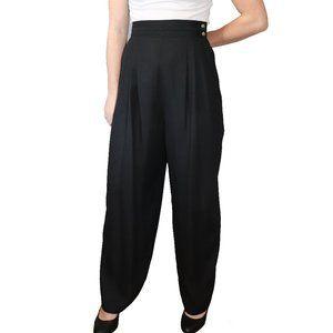Lana Lee Black Wide Leg Trouser Dress Pants